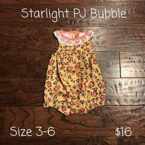Matilda Jane Pajamas - Matilda Jane Baby PJ's Bubble, Size 3-6 months,NWT